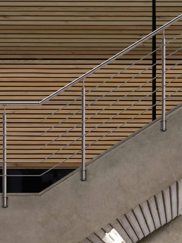 Ringhiere Moderne Per Scale Interne.Ringhiere Moderne In Acciaio Per Scale E Balaustre