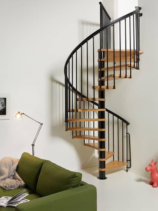 Nice 1: Budget Spiral Staircsase
