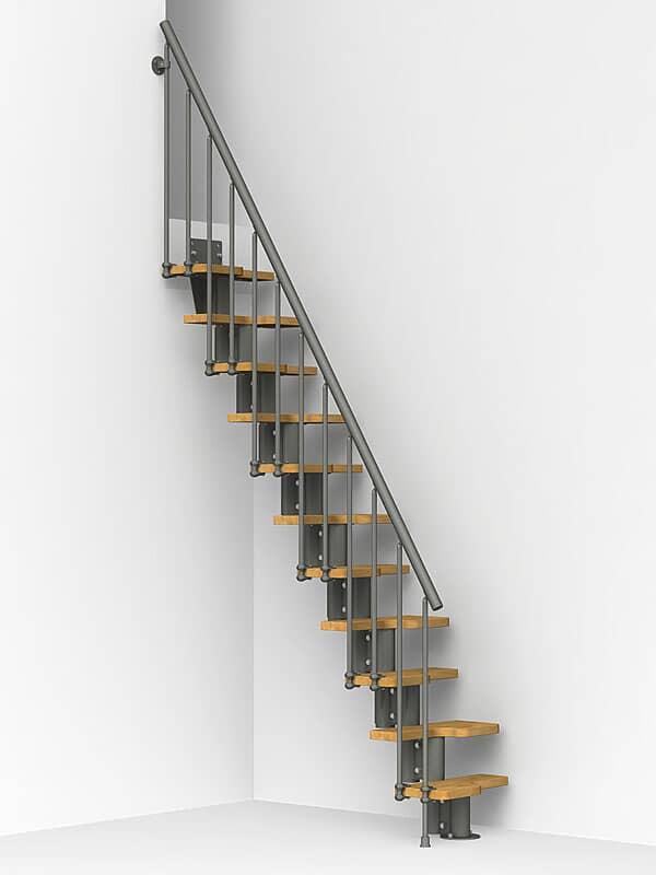 Oak 30 Escalier Gain De Place En Kit En Acier Pour Espaces Reduits